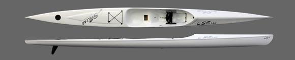 Stellar SR Ocean Ski - a beginner to intermediate surf ski in four different layups