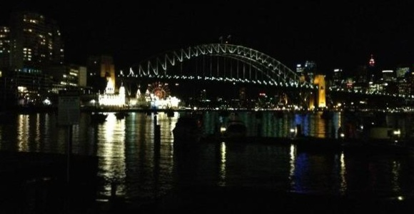 Sydney, what a magnificent Harbour to paddle off into...