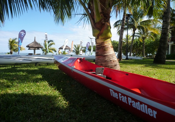 The Fat Paddler, reporting in LIVE from the 2012 Mauritius Ocean Classic