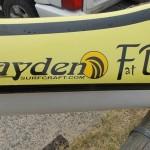Hayden Fat Boy spec surfski