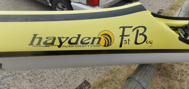 Hayden Fat Boy spec surfski