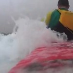 Paddling storm surges on the east coast of Australia