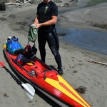Don in Tsunami Ranger mode, somewhere on the US West Coast (photo credit: Jim Kakuk)