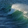 Charging green lumps at Manly
